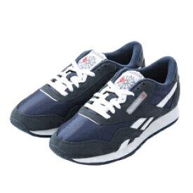 【リーボック】 クラシックナイロン スニーカ— [サイズ:27.5cm] [カラー:チームネイビー×プラチナム] #39749 【靴:メンズ靴:スニーカー】