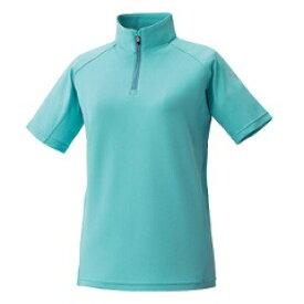 【プロモンテ】 トリプルドライカラット 半袖ジップシャツ(ウィメンズ) [カラー:ターコイズ] [サイズ:L] #TN149W 【スポーツ・アウトドア:アウトドア:ウェア:レディースウェア】
