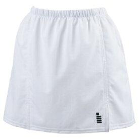 【ゴーセン】 レディーススカート(インナースパッツ付き) [カラー:ホワイト] [サイズ:LL] #S1301 【スポーツ・アウトドア:その他雑貨】