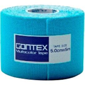 【ゴンテックス】 マルチカラーテープ 伸縮性ロールテープ キネシオロジーテープ [カラー:ブルー] [サイズ:幅5cm×長さ5m] #GTRT003BLS 【スポーツ・アウトドア:その他雑貨】
