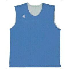 【コンバース】 リバーシブルノースリーブシャツ CB24730 [カラー:サックス×ホワイト] [サイズ:SSS] #CB24730-2211 【スポーツ・アウトドア:スポーツ・アウトドア雑貨】