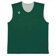 【コンバース】 リバーシブルノースリーブシャツ CB24730 [カラー:グリーン×ホワイト] [サイズ:SSS] #CB24730-4911 【スポーツ・アウトドア:スポーツ・アウトドア雑貨】
