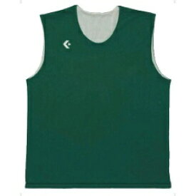 【コンバース】 リバーシブルノースリーブシャツ CB24730 [カラー:グリーン×ホワイト] [サイズ:OXO] #CB24730-4911 【スポーツ・アウトドア:その他雑貨】