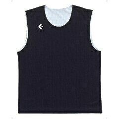 【コンバース】 リバーシブルノースリーブシャツ CB24730 [カラー:ブラック×ホワイト] [サイズ:2XO] #CB24730-1911 【スポーツ・アウトドア:スポーツ・アウトドア雑貨】