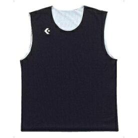 【コンバース】 リバーシブルノースリーブシャツ CB24730 [カラー:ブラック×ホワイト] [サイズ:2XO] #CB24730-1911 【スポーツ・アウトドア:その他雑貨】