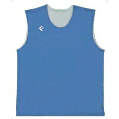【コンバース】 リバーシブルノースリーブシャツ CB24730 [カラー:サックス×ホワイト] [サイズ:2XO] #CB24730-2211 【スポーツ・アウトドア:スポーツ・アウトドア雑貨】