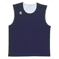 【コンバース】 リバーシブルノースリーブシャツ CB24730 [カラー:ネイビー×ホワイト] [サイズ:2XO] #CB24730-2911 【スポーツ・アウトドア:スポーツ・アウトドア雑貨】