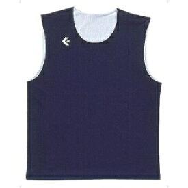 【コンバース】 リバーシブルノースリーブシャツ CB24730 [カラー:ネイビー×ホワイト] [サイズ:2XO] #CB24730-2911 【スポーツ・アウトドア:その他雑貨】