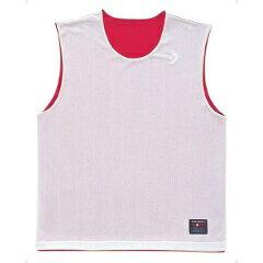 【コンバース】 リバーシブルノースリーブシャツ CB24730 [カラー:レッド×ホワイト] [サイズ:2XO] #CB24730-6411 【スポーツ・アウトドア:スポーツ・アウトドア雑貨】