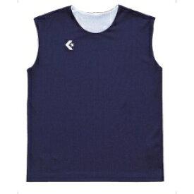 【コンバース】 ウィメンズリバーシブルノースリーブシャツ CB33704 [カラー:ネイビー×ホワイト] [サイズ:OXO] #CB33704-2911 【スポーツ・アウトドア:その他雑貨】