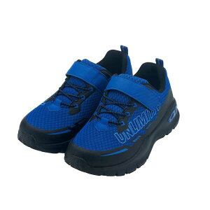 【アンリミティブ】 BANDAI アンリミティブ WATER PROOF W-01-F 防水タイプ [サイズ:19.0cm] [カラー:ブルー] #2523368-BLUE 【スポーツ・アウトドア:ジョギング・マラソン:シューズ】