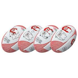 【ギルバート】 レンジ— JRFUマスコットボール ラグビーボール 5号球 #GB-9311 【スポーツ・アウトドア:ラグビー:ボール】