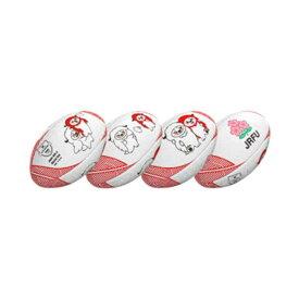 【ギルバート】 レンジ— JRFUマスコットボール ミニボール #GB-9315 【スポーツ・アウトドア:ラグビー:ボール】