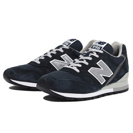 【4000円offなどクーポン発行中 4/22 9:59まで】 【送料無料】 ニューバランス M996NAV [カラー:ネイビー] [サイズ:25.5cm (US7.5) Dワイズ] 【ニューバランス: 靴 メンズ靴 スニーカー】【NEW BALANCE New Balance M996】