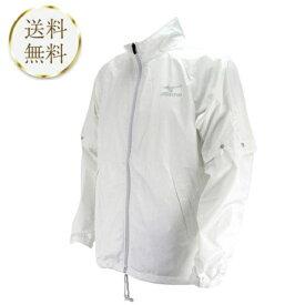ミズノ MIZUNO メンズ ゴルフウェア シルバー/ブラック 3サイズ レインスーツ 上下セット 52MG6A01