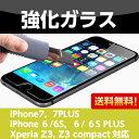 送料無料 強化ガラス保護フィルムiPhone7 or iPhone7 Plus or iPhone6/6S or iPhone6 Plus/6SPlus or ...