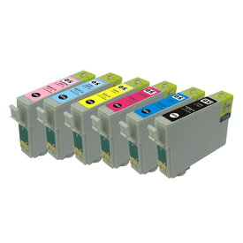 EPSON IC6CL50 6色セット残量表示ICチップ付き互換インク (ゆうパケット送料無料) 【TIME】【stm】