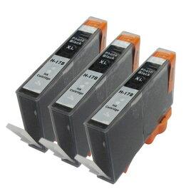 (3個セット)HP178XL黒 互換インク ICチップ付(残量表示機能付) (定形外送料無料) 【TIME】【stm】