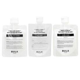 (バルクオム3点セット) バルクオム ザ・フェイスウォッシュ (洗顔料)& ザ・トナー(化粧水)&ザ・ローション(乳液)(送料無料)