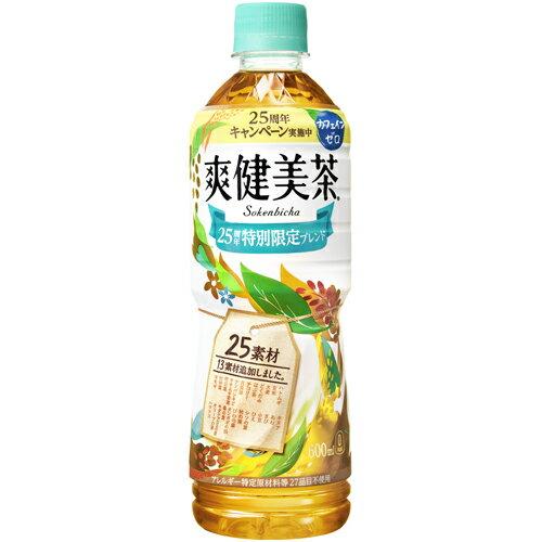 爽健美茶 600mlPET×24本 コカ・コーラ直送商品以外と 同梱不可 【D】【サイズE】