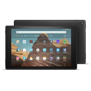 【Newモデル】Fire HD 10 タブレット ブラック (10インチHDディスプレイ) 64GB●
