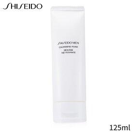 資生堂 洗顔ソープ Shiseido 洗顔料 メン クレンジングフォーム 125ml メンズ スキンケア 男性用 基礎化粧品 フェイス 人気 コスメ 化粧品 誕生日プレゼント 父の日 ギフト