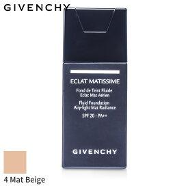 ジバンシィ リキッドファンデーション Givenchy エクラ マティシム - # 4 マット ベージュ 30ml メイクアップ フェイス カバー力 人気 コスメ 化粧品 誕生日プレゼント ギフト
