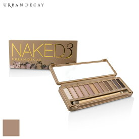 アーバンディケイ セット&コフレ Urban Decay ギフトセット Naked 3 Eyeshadow Palette: 12x Eyeshadow, 1x Doubled Ended Shadow Blending Brush - メイクアップ メイクアップセット おしゃれ 人気 コスメ 化粧品 誕生日プレゼント ギフト