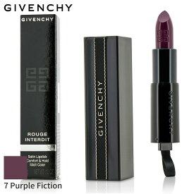 ジバンシィ リップスティック Givenchy 口紅 ルージュ・アンテルディ - # 7 Purple Fiction 3.4g メイクアップ リップ 落ちにくい 人気 コスメ 化粧品 誕生日プレゼント ギフト