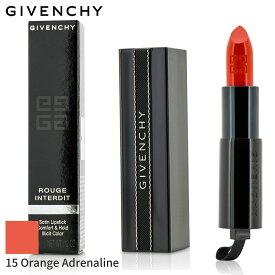 ジバンシィ リップスティック Givenchy 口紅 ルージュ・アンテルディ - # 15 Orange Adrenaline 3.4g メイクアップ リップ 落ちにくい 人気 コスメ 化粧品 誕生日プレゼント ギフト