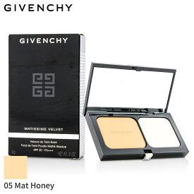 ジバンシィ パウダーファンデーション Givenchy マティシム ヴェルヴェット ラディエント マット パウダー ファンデーション SPF 20 - #05 Mat Honey 9g メイクアップ フェイス カバー力 人気 コスメ 化粧品 誕生日プレゼント ギフト