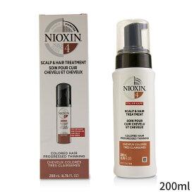 ナイオキシン トリートメント Nioxin Diameter System 4 Scalp & Hair Treatment (Colored Hair, Progressed Thinning, Color Safe) 200ml ヘアケア 人気 コスメ 化粧品 誕生日プレゼント ギフト