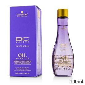 シュワルツコフ トリートメント Schwarzkopf BC Oil Miracle Barbary Fig & Keratin Restorative Treatment (For Very Dry and Brittle Hair) 100ml ヘアケア 人気 コスメ 化粧品 誕生日プレゼント ギフト