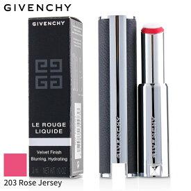 ジバンシィ リップスティック Givenchy 口紅 ル ルージュ リキード - # 203 Rose Jersey 3ml メイクアップ リップ 落ちにくい 人気 コスメ 化粧品 誕生日プレゼント ギフト