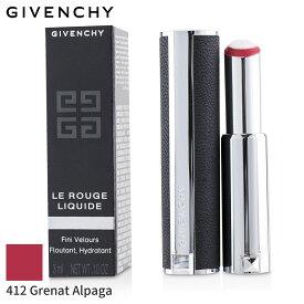 ジバンシィ リップスティック Givenchy 口紅 ル ルージュ リキード - # 412 Grenat Alpaga 3ml メイクアップ リップ 落ちにくい 人気 コスメ 化粧品 誕生日プレゼント ギフト