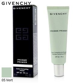 ジバンシィ プライマー&ベース Givenchy 化粧下地 プリズム プライマー SPF 20 - # 05 Vert (Redness) 30ml メイクアップ フェイス 人気 コスメ 化粧品 誕生日プレゼント ギフト