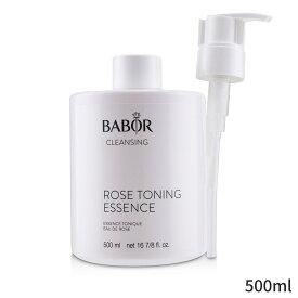 バボール クレンジング Babor 洗顔料 CLEANSING Rose Toning Essence (Salon Size) 500ml レディース スキンケア 女性用 基礎化粧品 フェイス 人気 コスメ 化粧品 誕生日プレゼント ギフト