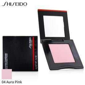 資生堂 チーク Shiseido インナーグロー チークパウダー - # 04 Aura Pink (Muted Rose) 4g メイクアップ フェイス 人気 コスメ 化粧品 誕生日プレゼント ギフト