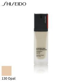 資生堂 リキッドファンデーション Shiseido シンクロ スキン セルフ リフレッシング ファンデーション SPF 30 - # 130 Opal 30ml メイクアップ フェイス カバー力 人気 コスメ 化粧品 誕生日プレゼント ギフト