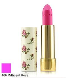 グッチ リップスティック Gucci 口紅 ルージュ ア レブル ボイル リップ カラー - # 406 Millicent Rose 3.5g メイクアップ 落ちにくい 人気 コスメ 化粧品 誕生日プレゼント ギフト