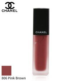シャネル リップスティック Chanel 口紅 Rouge Allure Ink Fusion Ultrawear Intense Matte Liquid Lip Colour - # 806 Pink Brown 6ml メイクアップ リップ 落ちにくい 人気 コスメ 化粧品 誕生日プレゼント ギフト