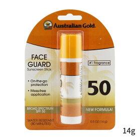 オーストラリアンゴールド UVケア(顔用) Australian Gold 日焼け止め フェイスガード サンスクリーンスティック SPF50 - #1 Fragrance 14g レディース スキンケア 女性用 基礎化粧品 UVケア 人気 コスメ 化粧品 誕生日プレゼント ギフト