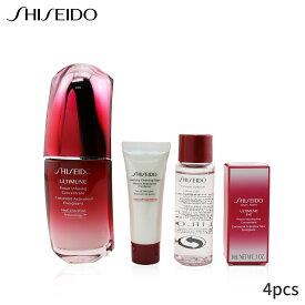 資生堂 セット&コフレ Shiseido ギフトセット スキン ディフェンス プログラム セット: アルティミューン パワー インフュージング コンセントレート 50ml + クレンジング フォーム 15ml ソフトナー 30ml アイ 3ml 4pcs レディース スキンケア 女性用