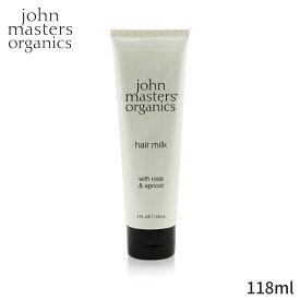ジョンマスターオーガニック クリーム・ジェル John Masters Organics Hair Milk with Rose & Apricot 118ml スタイリング 整髪料 人気 コスメ 化粧品 誕生日プレゼント ギフト