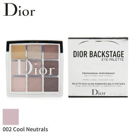 クリスチャンディオール セット&コフレ Christian Dior ギフトセット Backstage Eye Palette - # 002 Cool Neutrals 10g メイクアップ メイクアップセット おしゃれ 人気 コスメ 化粧品 誕生日プレゼント ギフト