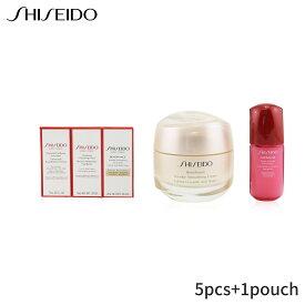 資生堂 セット&コフレ Shiseido ギフトセット アンチリンクル リチュアル ベネフィアンス リンクル スムージング クリーム セット (For All Skin Types): 50ml + クレンジング フォーム 5ml ソフトナー エンリッチ 7ml