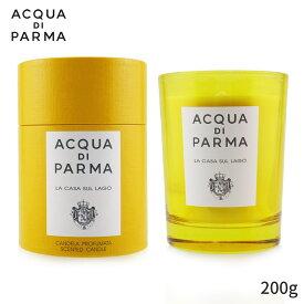 アクアディパルマ アロマキャンドル Acqua Di Parma キャンドル おしゃれ 可愛い Scented Candle - La Casa Sul Lago 200g ホームフレグランス 人気 コスメ 化粧品 誕生日プレゼント ギフト