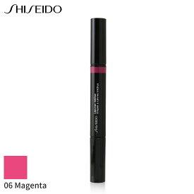 資生堂 リップライナー Shiseido LipLiner InkDuo (Prime + Line) - # 06 Magenta 1.1g メイクアップ リップ 人気 コスメ 化粧品 誕生日プレゼント ギフト