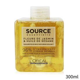 ロレアル シャンプー L'Oreal Professionnel Source Essentielle Jasmine Flowers & Sesame Oil Nourishing Shampoo 300ml ヘアケア 人気 コスメ 化粧品 誕生日プレゼント ギフト