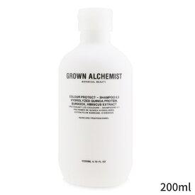 グロウンアルケミスト シャンプー Grown Alchemist Colour Protect - Shampoo 0.3 200ml ヘアケア 人気 コスメ 化粧品 誕生日プレゼント ギフト